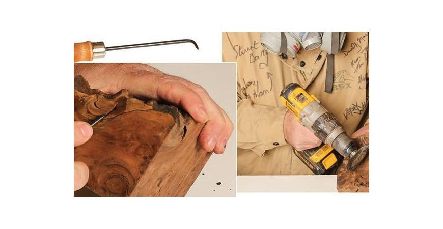 قالب گیری چوب و رزین برای خراطی - ۲