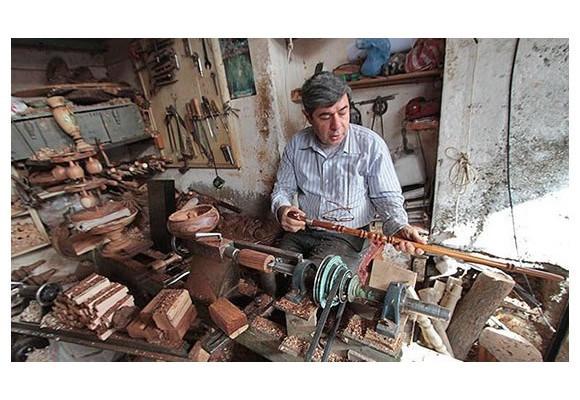 خراطی چوب در ایران